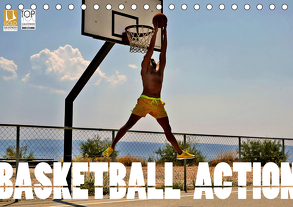 Basketball Action (Tischkalender 2020 DIN A5 quer) von Robert,  Boris