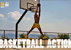 Basketball Action (Wandkalender 2019 DIN A2 quer) von Robert,  Boris