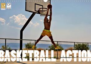 Basketball Action (Wandkalender 2020 DIN A3 quer) von Robert,  Boris