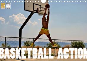 Basketball Action (Wandkalender 2020 DIN A4 quer) von Robert,  Boris