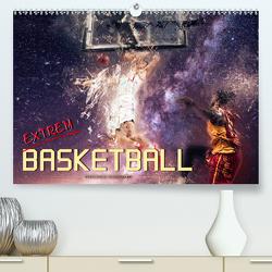 Basketball extrem (Premium, hochwertiger DIN A2 Wandkalender 2020, Kunstdruck in Hochglanz) von Roder,  Peter