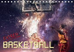 Basketball extrem (Tischkalender 2019 DIN A5 quer) von Roder,  Peter