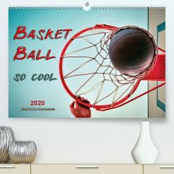 Basketball – so cool (Premium, hochwertiger DIN A2 Wandkalender 2020, Kunstdruck in Hochglanz) von Roder,  Peter