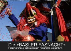 BASLER FASNACHT – Faszinierendes, schweizerisch regionales Brauchtum.CH-Version (Wandkalender 2019 DIN A2 quer) von H. Wisselaar,  Marc