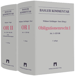 Basler Kommentar OR I + OR II von Oser,  David, Vogt,  Hans-Ueli, Watter,  Rolf, Widmer Lüchinger,  Corinne