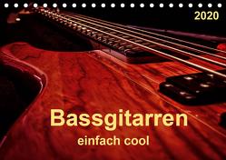 Bassgitarren – einfach cool (Tischkalender 2020 DIN A5 quer) von Roder,  Peter