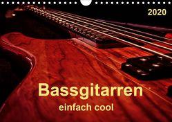 Bassgitarren – einfach cool (Wandkalender 2020 DIN A4 quer) von Roder,  Peter