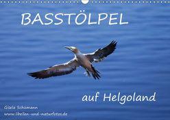 Basstölpel auf Helgoland (Wandkalender 2019 DIN A3 quer) von Schuemann,  Gisela