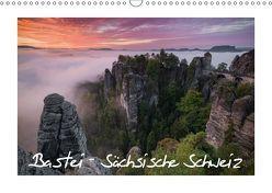 Bastei – Sächsische Schweiz (Wandkalender 2019 DIN A3 quer) von Buschardt,  Boris