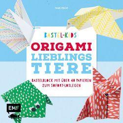 Bastel-Kids – Origami Lieblingstiere von Precht,  Thade