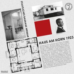 """Bastelbogen """"Haus am Horn 1923"""" von Locke,  Klaus Dieter, Siebenbrodt,  Michael"""