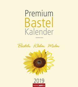 Bastelkalender champagner 21,5 x 24 cm – Kalender 2019 von Weingarten