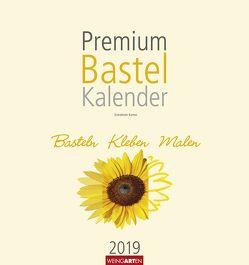 Bastelkalender champagner 32 x 34 cm – Kalender 2019 von Weingarten