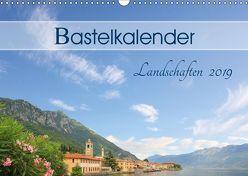 Bastelkalender Landschaften 2019 (Wandkalender 2019 DIN A3 quer) von SusaZoom