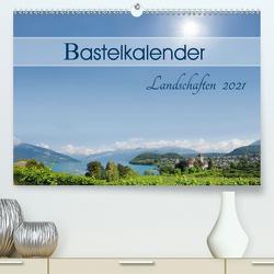 Bastelkalender Landschaften 2021 (Premium, hochwertiger DIN A2 Wandkalender 2021, Kunstdruck in Hochglanz) von SusaZoom