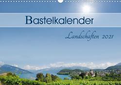 Bastelkalender Landschaften 2021 (Wandkalender 2021 DIN A3 quer) von SusaZoom