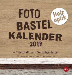 Bastelkalender Natur Holzoptik – Kalender 2019 von Heye