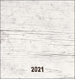 Bastelkalender Natur Holzoptik Kalender 2021 von Heye