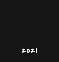 Bastelkalender schwarz mittel Kalender 2021 von Heye