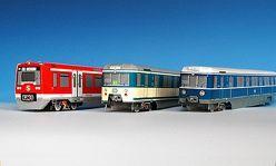 BastelmappenSet S-Bahn Hamburg H0 – Baureihe 474, ET 171und ET 471 von Wilking,  Oliver