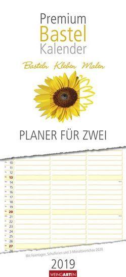 Bastelplaner für zwei – Kalender 2019 von Weingarten
