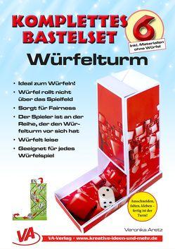 Bastelset Würfelturm (1) – für Kinder, leicht zu basteln, ausschneiden, falten, kleben von Aretz,  Veronika