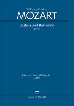 Bastien und Bastienne (Klavierauszug) von Mozart,  Wolfgang Amadeus