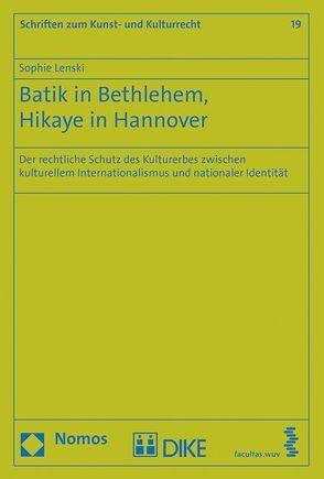 Batik in Bethlehem, Hikaye in Hannover von Lenski,  Sophie