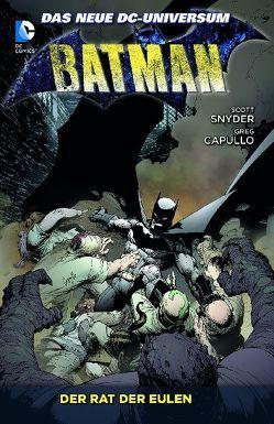 Batman von Capullo,  Greg, Glapion,  Jonathan, Snyder,  Scott