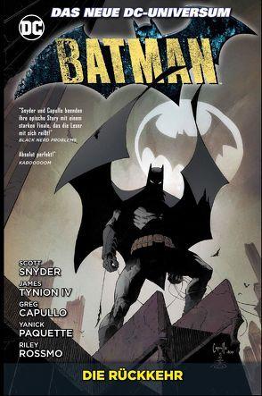 Batman von Capullo,  Greg, Kruhm,  Ralph, Paquette,  Yanick, Rossmo,  Riley, Snyder,  Scott, Tynion IV,  James