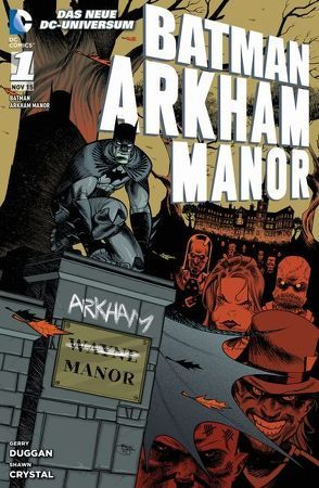 Batman: Arkham Manor von Crystal,  Shawn, Duggan,  Gerry