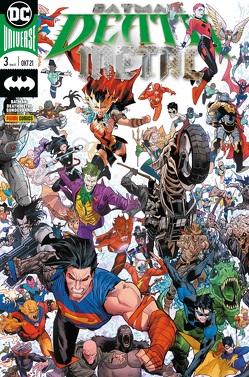 Batman: Death Metal Sonderband von Johns,  Geoff, Kruhm,  Ralph, Manapul,  Francis, Ordway,  Jerry, Snyder,  Scott, Tynion IV,  James