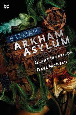 Batman Deluxe: Arkham Asylum von Heiss,  Christian, McKean,  Dave, Morrison,  Grant, Rother,  Josef, Zahn,  Jürgen