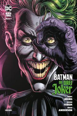 Batman: Die drei Joker von Fabok,  Jason, Johns,  Geoff, Rother,  Josef