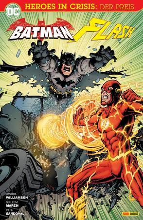 Batman & Flash: Heroes In Crisis von March,  Guillem, Sandoval,  Rafa, Williamson,  Joshua