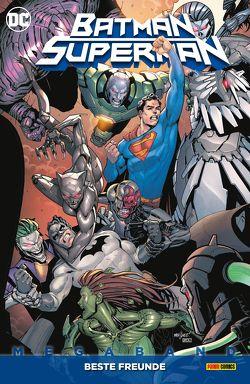 Batman/Superman Megaband von Bressan,  Andrei, Derington,  Nick, Eaglesham,  Dale, Henry,  Clayton, Kruhm,  Ralph, Melnikov,  Gleb, Raynor,  Max, Williamson,  Joshua