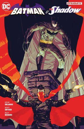 Batman & The Shadow von Althoff,  Gerlinde, Orlando,  Steve, Rossmo,  Riley, Snyder,  Scott