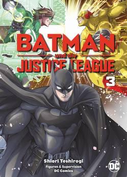 Batman und die Justice League von Teshirogi,  Shiori