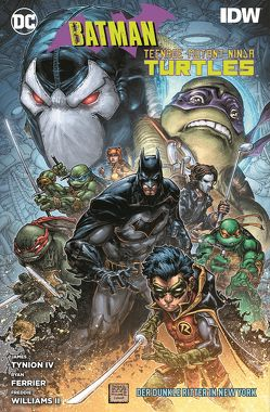 Batman/Teenage Mutant Ninja Turtles: Der Dunkle Ritter in New York von Ferrier,  Ryan, Rother,  Josef, Tynion IV,  James, Williams II,  Freddie