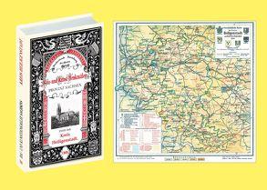 Bau- und Kunstdenkmäler des Kreises HEILIGENSTADT 1909. Buch und Karte von Rassow,  Walter