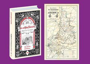 Bau- und Kunstdenkmäler des Kreises JERICHOW 1898. Buch und Karte von Wernicke,  Ernst