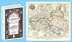Bau- und Kunstdenkmäler des MANSFELDER SEEKREIS 1895. Buch und Karte von Brinkmann,  Adolf, Größler,  Georg Paul Hermann