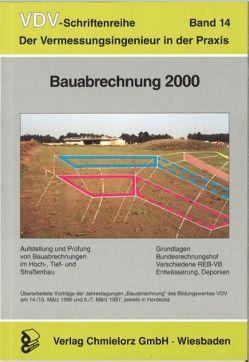 Bauabrechnung 2000 von Klemp,  Dieter