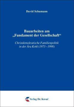 """Bauarbeiten am """"Fundament der Gesellschaft"""" von Schumann,  David"""
