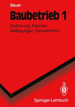 Baubetrieb 1 von Bauer,  Hermann
