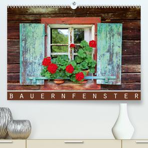 Bauernfenster (Premium, hochwertiger DIN A2 Wandkalender 2021, Kunstdruck in Hochglanz) von Ehrentraut,  Dirk