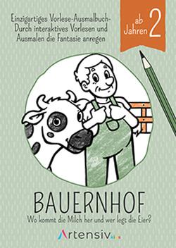 Bauernhof – Malbuch ab 2 Jahren von Schulz,  Sönke