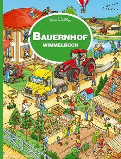 Bauernhof Wimmelbuch von Walther,  Max