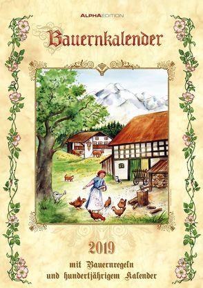 Bauernkalender 2019 – A3-Bildkalender von ALPHA EDITION