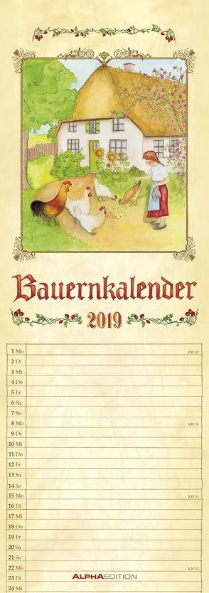 Bauernkalender 2019 – Streifenkalender von ALPHA EDITION